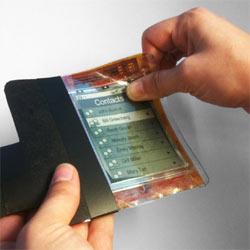 """Llegan los """"smartphones de papel"""""""