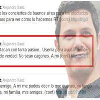 """Alejandro Sanz deja con el """"corazón partío"""" a Twitter"""