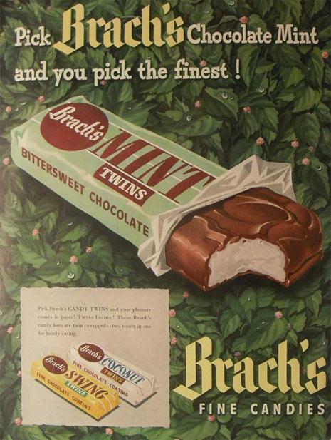 50 anuncios vintage con sabor a chocolate