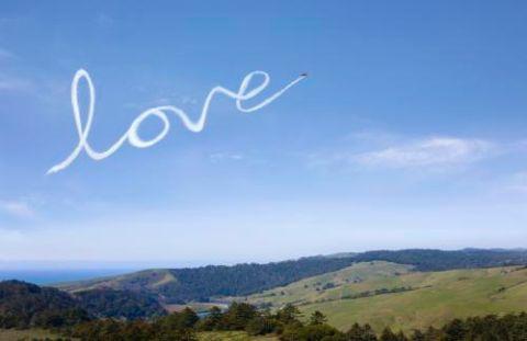 Los mejores mensajes escritos en el aire