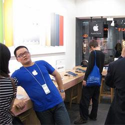 """Las tiendas de Apple tienen un """"clon"""" falso, pero casi perfecto en China"""