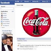 Coca-Cola, única marca de gran consumo entre el top 15 de páginas con más fans en Facebook