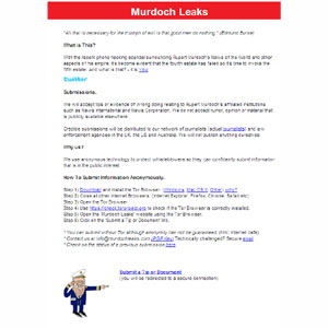 """Llega """"Murdoch Leaks"""", la plataforma que pone al descubierto los """"trapos sucios"""" de News Corporation"""