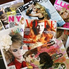 Los consumidores de lujo siguen decantándose por las revistas para orientar sus compras