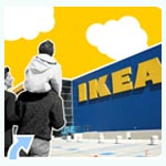 IKEA demuestra que sus cocinas pueden ser tan amplias que tengamos que trepar por ellas