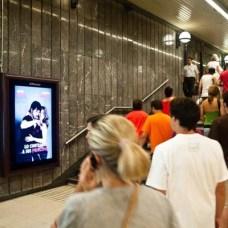 JCDecaux da un impulso a la publicidad digital en el Metro de Barcelona