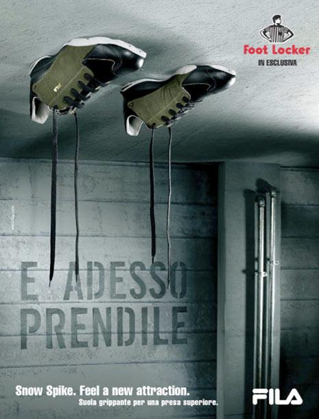 25 anuncios originales de zapatillas cuando la publicidad se viste por los pies  Marketing Directo