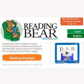 """Wikipedia ahora enseña a leer a los niños con """"Reading Bear"""""""