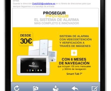 Prosegur se anota un tanto con su campaña móvil para el lanzamiento de Prosegur Proview +