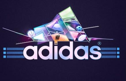 Espectaculares ejemplos de arte con Adidas