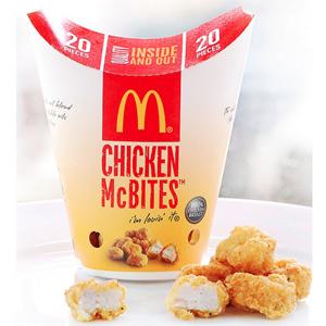 El gran plan del nuevo CEO de McDonald's pasa por el pollo, mucho pollo
