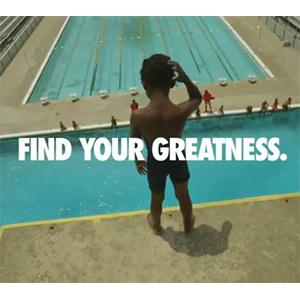 Nike se acerca a la gente normal y los lugares corrientes en su última campaña para llamar la atención durante las Olimpiadas