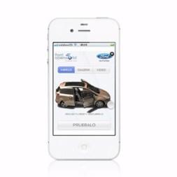 El nuevo anuncio del Ford B-Max se puede ver en el smartphone e interactuar con él