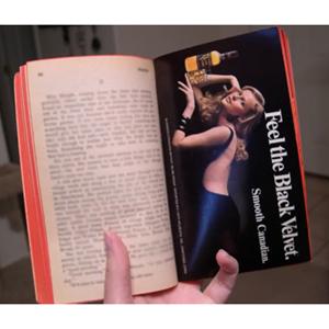 Libros con publicidad, ¿y por qué no?