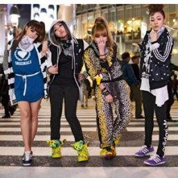 Adidas exhibe su publicidad en las calles de diversas capitales del mundo