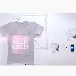 Ballantines lanza una camiseta que se conecta a internet y se maneja mediante una aplicación móvil
