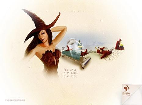 La Sirenita y otros personajes de cuento pasan por el quirófano en una nueva campaña publicitaria