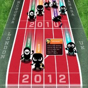 """Las páginas falsas que prometen cobertura de las Olimpiadas también """"corren"""" su propia maratón"""