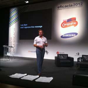 B. van der Vliet (U. S. of Fans) en #Eficacia2012: