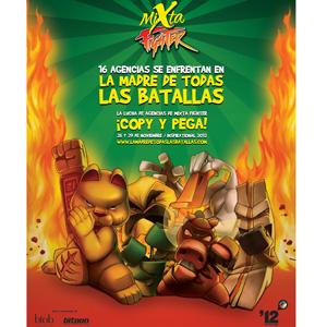 La 'Batalla de las Agencias', de Mixta Fighter, se librará en el #IABInspirational 2012