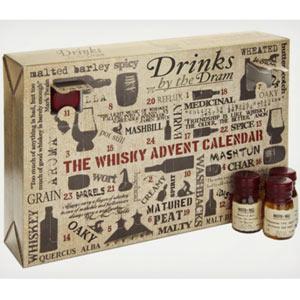 Cuando en los calendarios de adviento se sustituye el chocolate por el whisky