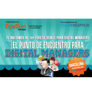 Barcelona acoge el Primer Foro Epsilon para Digital Managers