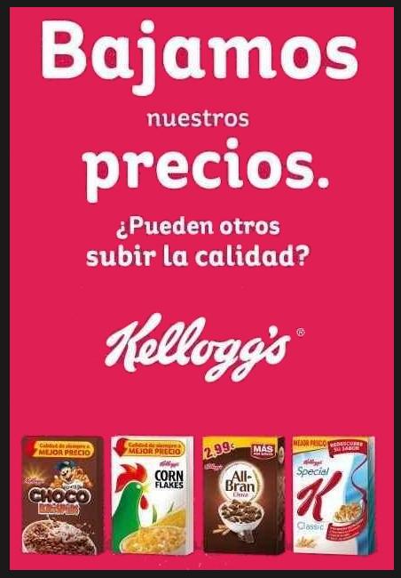 Dia vs. Kellogg's: la guerra entre las marcas blancas y las marcas de fabricante se recrudece