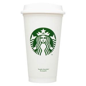 """Starbucks lanza vasos reutilizables de un dólar para intentar ser más """"verde"""""""