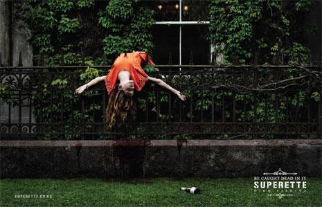 La muerte, ¿aliada de la publicidad de firmas de moda?
