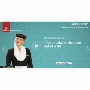 Emirates apuesta por la diversidad de idiomas en su nueva campaña global