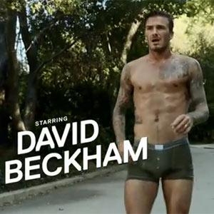 David Beckham se pega una carrera por todo Los Ángeles con los calzoncillos de H&M