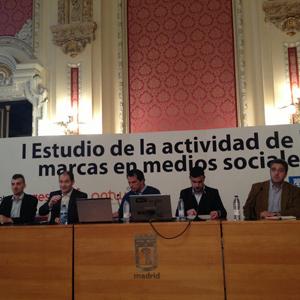Las marcas españolas crean 0,06 contenidos por cada 100 usuarios en redes sociales, según el #EstudioMarcasMMSS