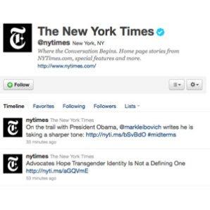 'The New York Times' lanza un servicio de publicidad en tiempo real basado en los trending topic de Twitter
