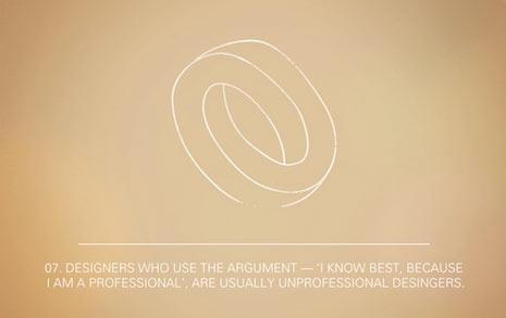 Las 12 paradojas del diseño gráfico