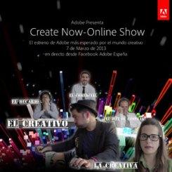 El estreno de Adobe #CreateNowEs se convierte en trending topic y llega a más de 2.000 conexiones