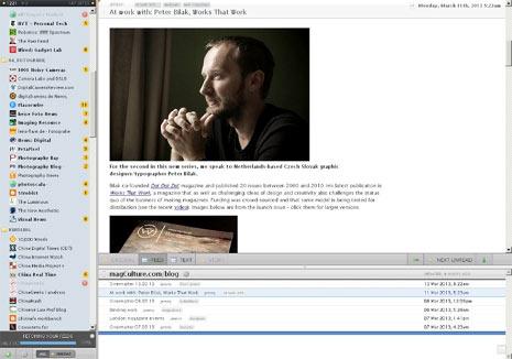 """A rey muerto, rey puesto: 3 alternativas al """"difunto"""" Google Reader"""