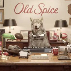 """Old Spice despide a Mr. Wolfdog, el perro lobo metido a """"marketero"""""""