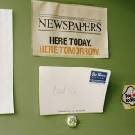 El descenso a los infiernos de los periódicos, en imágenes