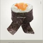 40 deliciosos bocados publicitarios de sushi