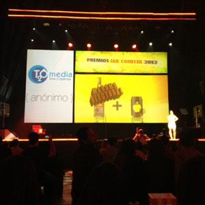 Doble premio para T2O media en los IAB Conecta 2013