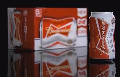 """Budweiser se saca de la chistera las primeras latas de cerveza con """"curvas"""""""