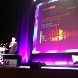 """A. Brown (Kantar Media) en #FOMG13: """"El consumidor es el propietario del Big Data"""""""