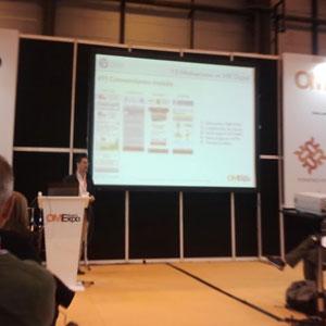 """Óscar Alonso (T2O media) en #OMExpo: """"El RTB es el nuevo '3 en 1', es lo que más está de moda en el entorno del marketing digital"""""""