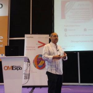 """Pedro Embid (7eBiz) en #OMExpo: """"La internacionalización de una web debe empezar con una clara estrategia"""""""