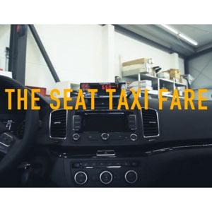 Un taxímetro que va disminuyendo en vez de en aumento, una realidad gracias a Seat
