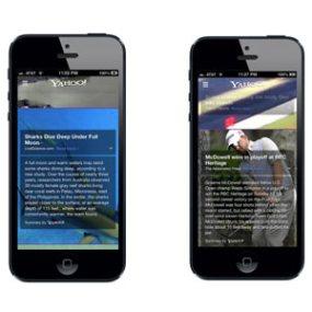 La nueva aplicación de Yahoo! para iOS viene con Summly debajo del brazo