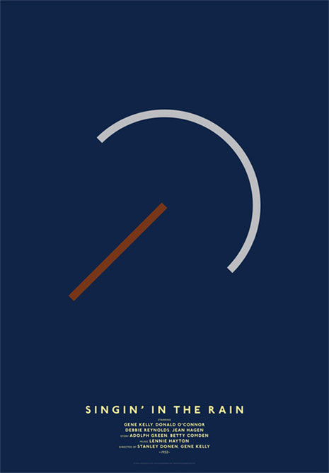 Si los carteles publicitarios de clásicos del cine se apuntaran a la moda del minimalismo…