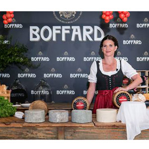 R* elige a Samantha Vallejo-Nágera como embajadora de quesos Boffard