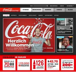 """""""Journey"""", la revista online de Coca-Cola, extiende sus tentáculos a Europa"""