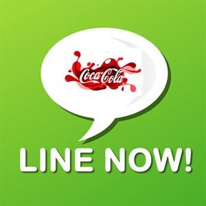 Coca-Cola es la primera marca con cuenta oficial de Line en Europa